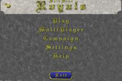Royals Main Menu