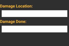 SFBC Damage Allocation Page